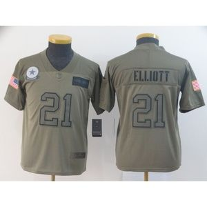 Youth Dallas Cowboys Ezekiel Elliott Jersey